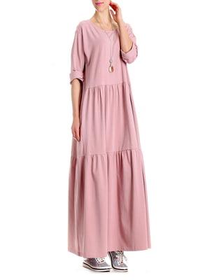 Сукня кольору пудри   4913089