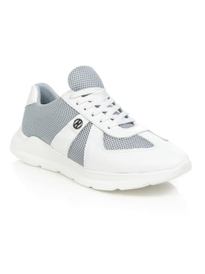 Кросівки біло-сірі | 4902490
