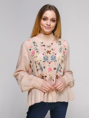 Блуза бежевая | 4874041