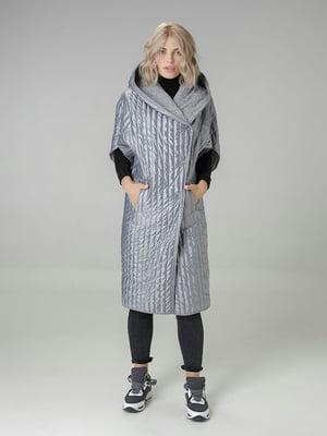 Пальто сіре | 4721016