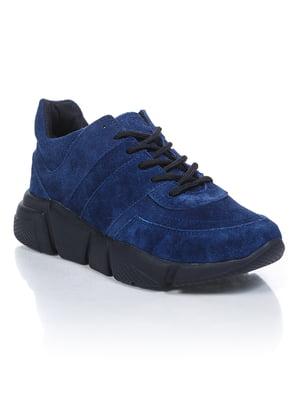 Кроссовки синие   4904009