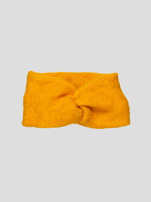 Пов'язка на голову жовта | 4874331