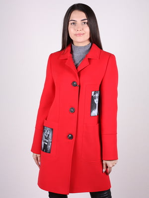 Пальто красное | 4913809
