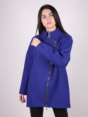 Пальто синее | 4913811