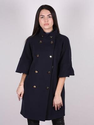 Пальто темно-синє | 4913815