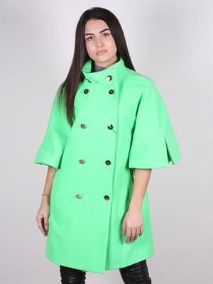 Пальто салатове | 4913817