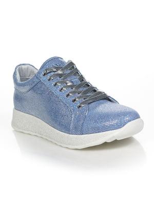 Кросівки блакитні | 4892054