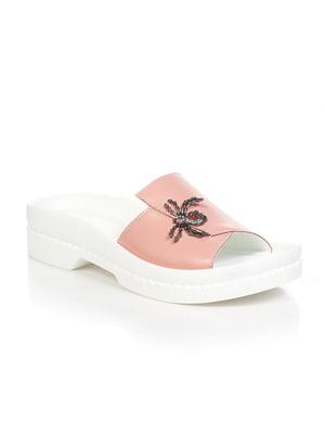 Шлепанцы розовые | 4892025