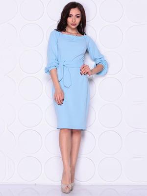 Платье голубое | 4914300
