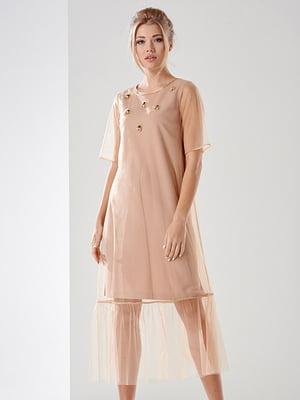 Сукня бежева   4068368
