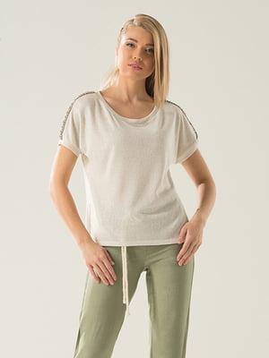 Блуза бежевая | 4100549