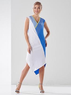 Платье двухцветное | 4138698
