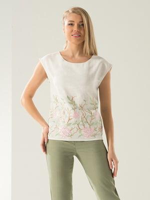Блуза молочного кольору | 4177904
