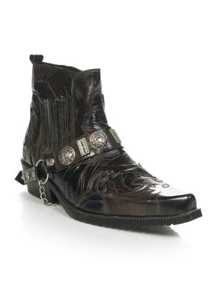 Ботинки коричневые   4910195