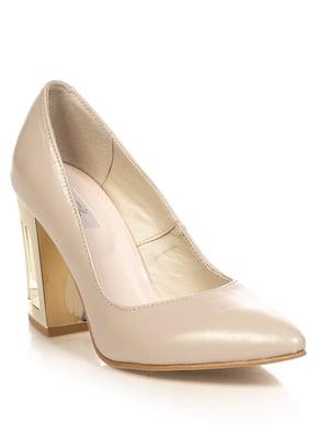 Туфлі нюдового кольору | 4913343