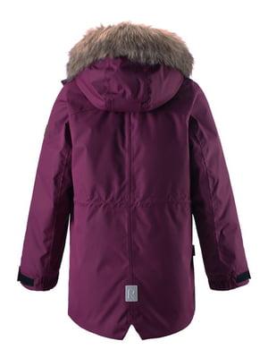 Куртка бордовая | 4856321