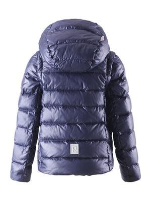 Куртка-жилет темно-синя | 4856325