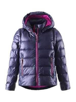 Куртка-жилет темно-синяя | 4856325