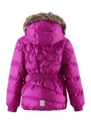 Куртка-пуховик рожева   4856328