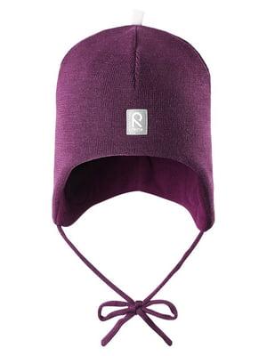 Шапка фиолетовая | 4856348