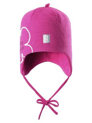 Шапка рожева | 4856358