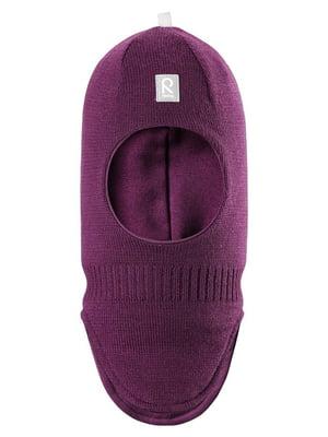 Шапка-шлем фиолетовая | 4856375