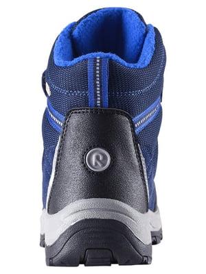 Ботинки синие | 4856519