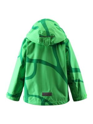 Ветровка зеленая | 4856534
