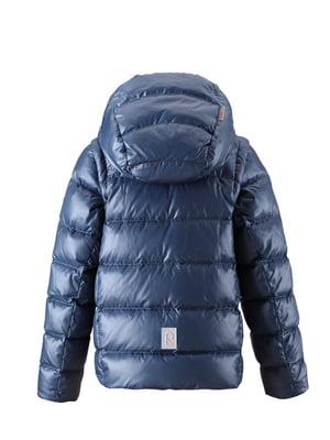 Куртка-жилет синьо-сірого кольору   4856651