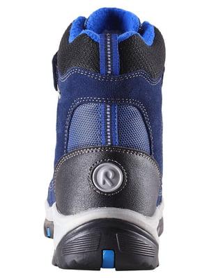 Ботинки синие | 4856752