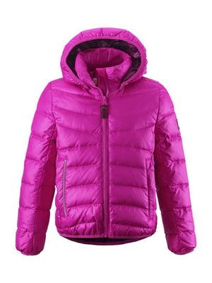 Куртка-пуховик рожева | 4911995