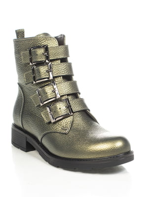 Ботинки зеленые | 4892111
