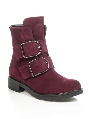 Ботинки фиолетовые | 4892103