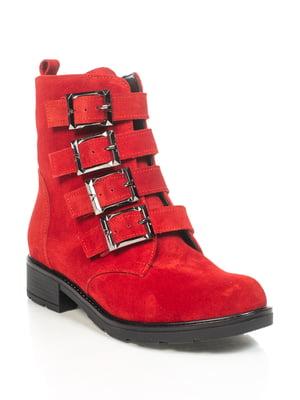 Ботинки красные   4892112