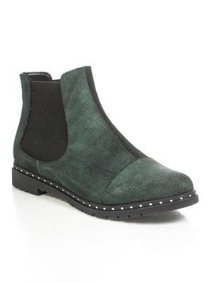Ботинки зеленые | 4892091