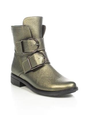 Ботинки зеленые | 4892094
