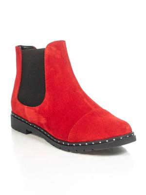 Ботинки красные | 4892128