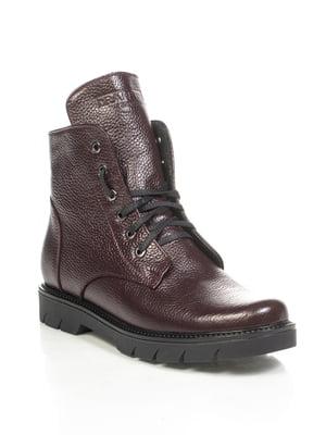 Ботинки бордовые | 4892114