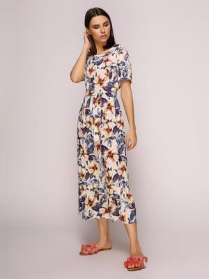 Сукня в квітковий принт   4915527