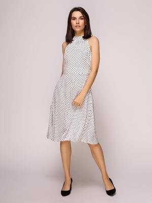Платье белое в горох | 4915533