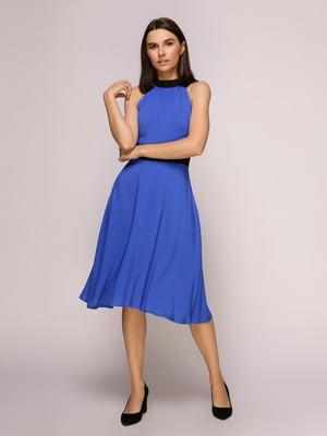 Платье синее   4915534