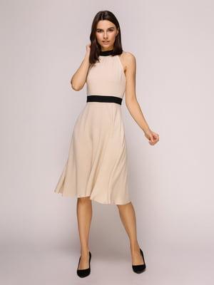 Платье бежевое | 4915535