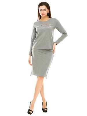 Комплект: лонгслив и юбка   4890749