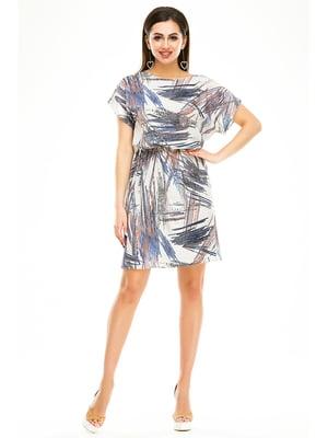 Сукня абстрактного забарвлення | 4917429