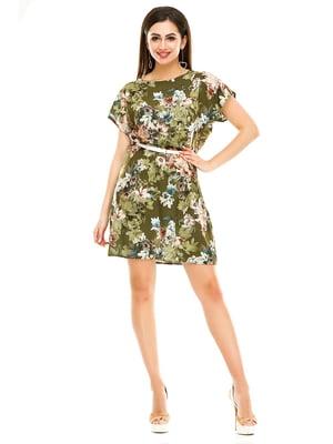 Сукня в квітковий принт | 4917461