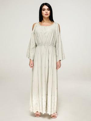 Сукня кольору хакі   4917533