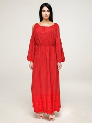 Платье красное | 4917548