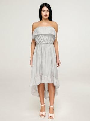 Платье светло-серое | 4917549