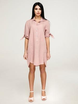 Платье розовое | 4917551