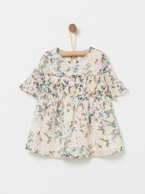 Блуза в квітковий принт | 4902822